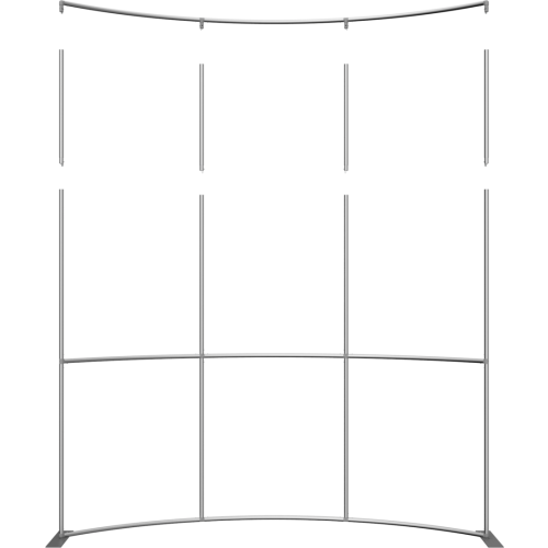 Formulate Master Backwall 2ft Height Extension Hardware