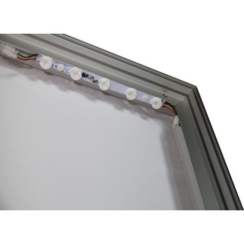 Vector Frame Light Box Square 04 Fabric Banner Display