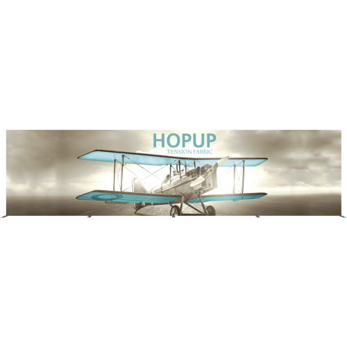 Hopup 30ft Straight Full Height Tension Fabric Display